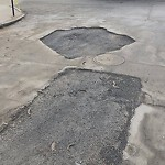 Pothole at 52 Chestnut St