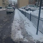 Unshoveled/Icy Sidewalk at 35 Winchester St