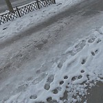 Unshoveled/Icy Sidewalk at 1341 Beacon St
