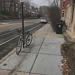 Abandoned Bike at 484 Washington St