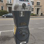 Broken Parking Meter at 340 Harvard St