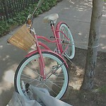 Abandoned Bike at 33 51 Winchester Street Brookline