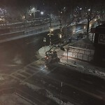 Roadway Plowing/Sanding at 102 St Mary's St, Boston