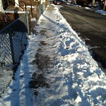 Unshoveled/Icy Sidewalk at N42.33 E71.12