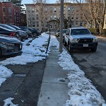 Unshoveled/Icy Sidewalk at 19 Winchester St