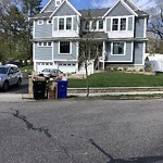 Trash/Recycling at 26 Intervale Rd Chestnut Hill