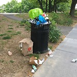 Trash/Recycling at 183–213 Summit Ave