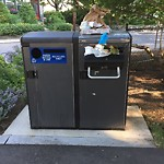 Trash/Recycling at 1–99 Emerson St
