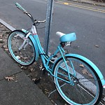 Abandoned Bike at 90 Ivy St